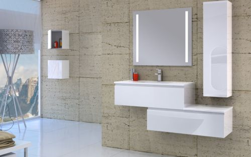 Renders de Muebles de baño - Modelo Glass - General